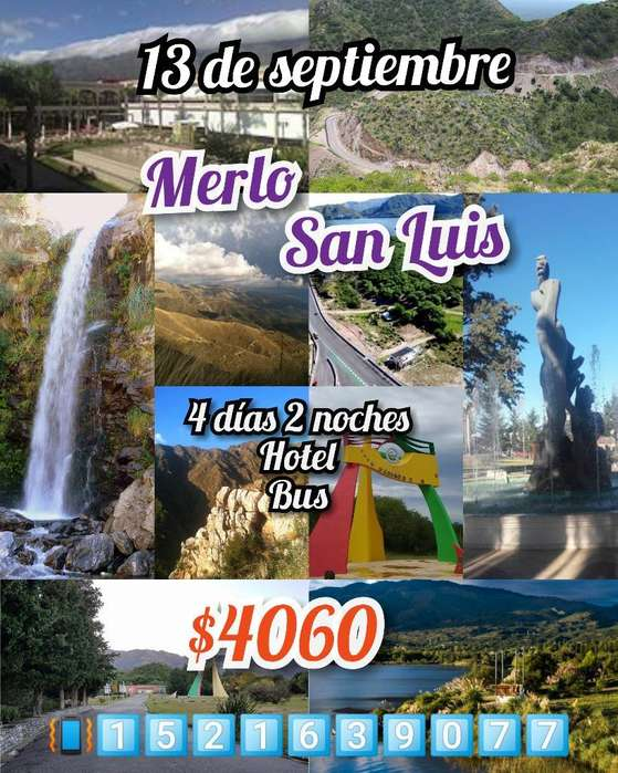 Merlo, San Luis