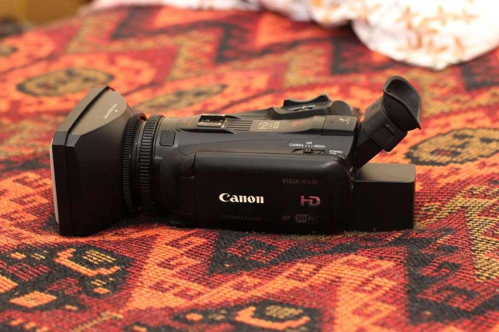 CANON G30 FULL HD EQUIPADASO