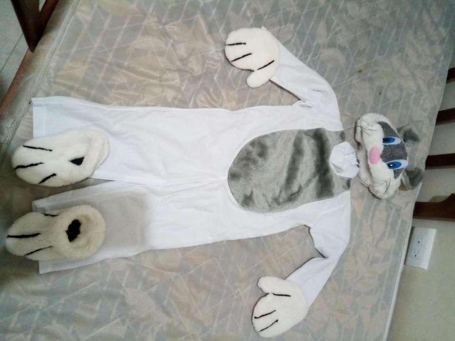 disfraz de conejo talla 2