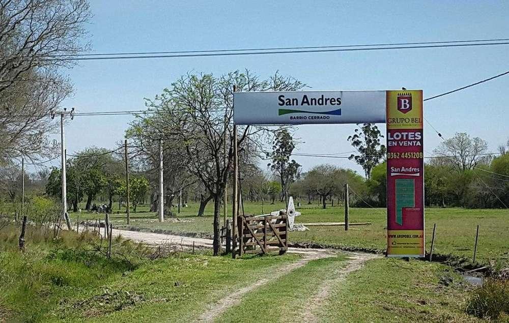 Ultimos terrenos Barrio San Andrés. Ruta 11 Km 1016