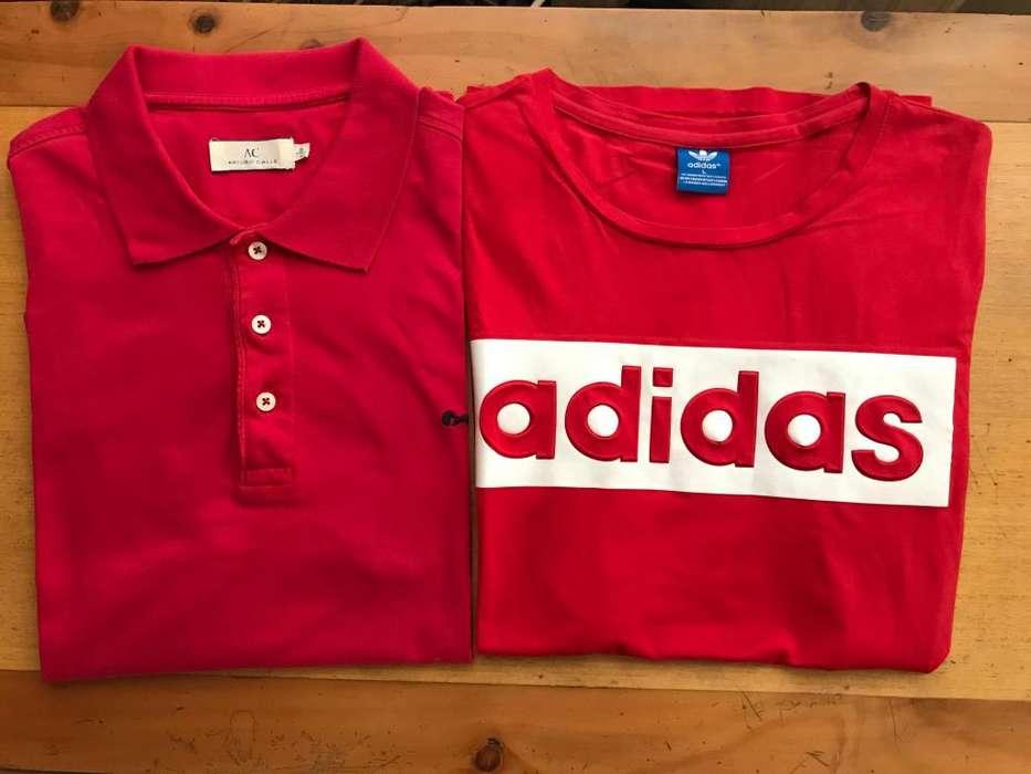 Dos camisas de marca Talla: L En muy buenas condiciones