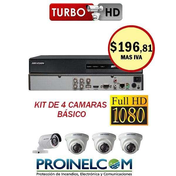 Kit De Camaras De Seguridad 1080p