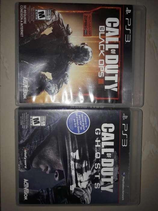 Call Of Duty Black Ops 3 Y Ghost