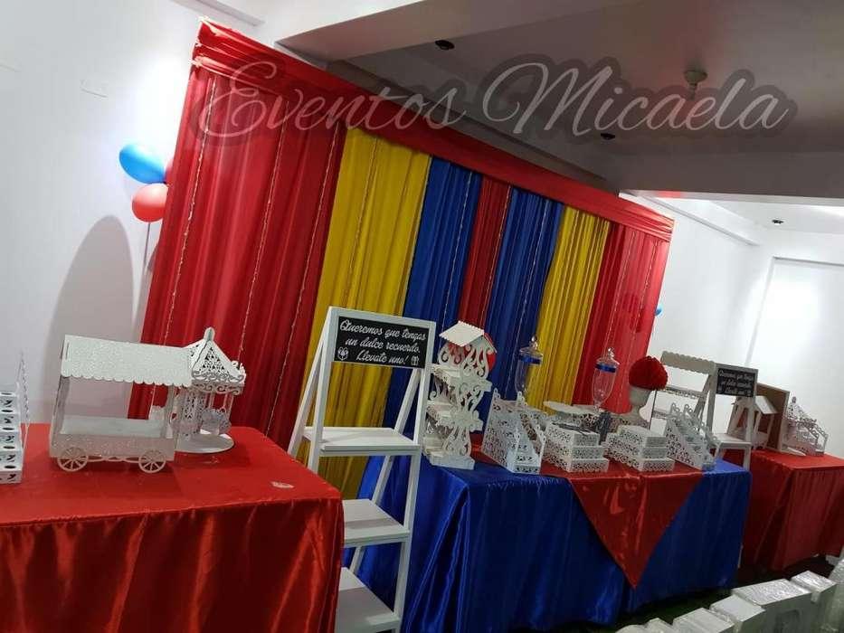 Alquiler de local para fiestas infantiles, cumpleaños, Bautizos, Baby Shower y otros.