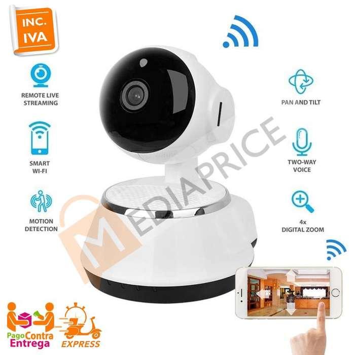 Camara Ip Hd Wifi Robotica Seguridad Q7S 2019