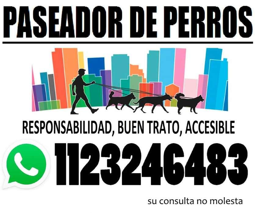 Paseador de <strong>perros</strong>: PATERNAL,CABALLITO,VILLA CRESPO y ALMAGRO.