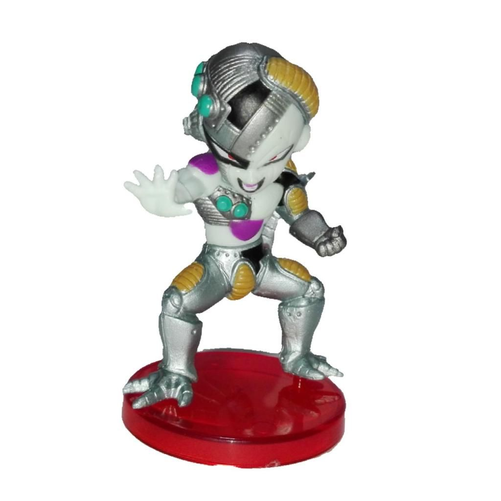 Figura accion freezer mecha cyborg 6cm Dragon Ball z anime regalo navidad amor