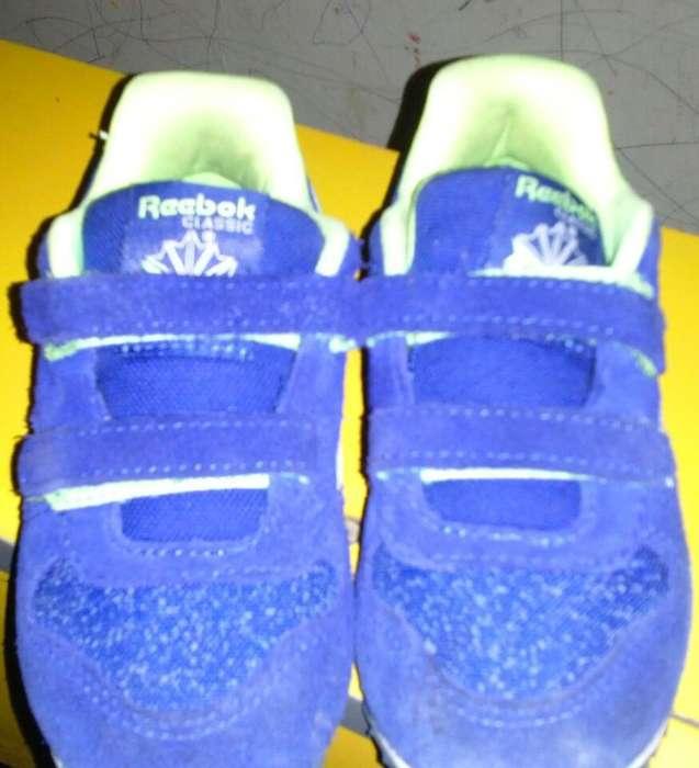 zapato niño reebok originales talla 7 poco uso