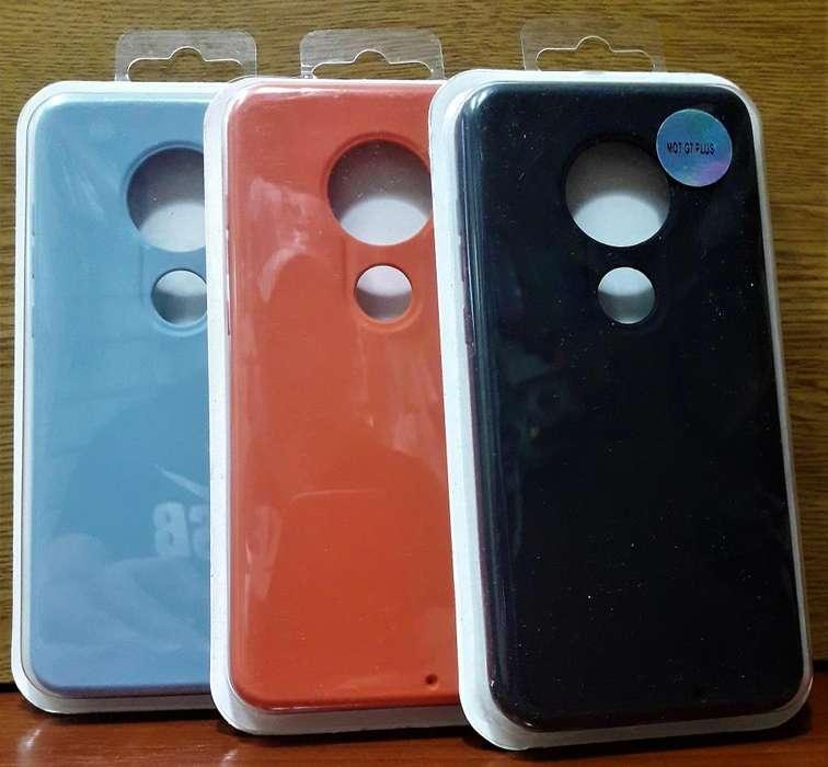 Funda Soft Case Motorola G7 plus Siliconada Soft Antigolpe