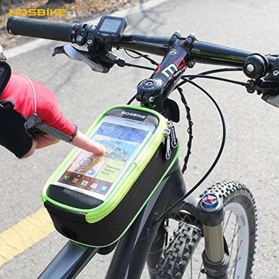 Soporte De Celular Bicicleta Moto Holder Bolso Impermeable