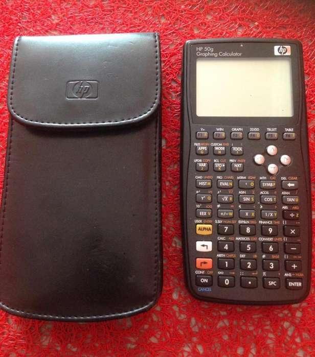 <strong>calculadora</strong> HP 50G COMO NUEVA CON ESTUCHE