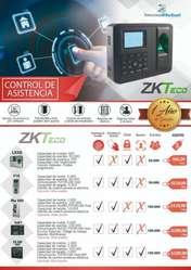 Control de acceso biometrico cerradura magnetica chapa electrica asistencia zkteco reloj biometrico