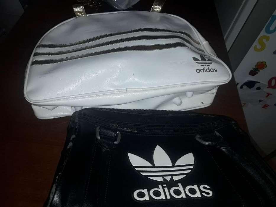 2 <strong>cartera</strong>s Adidas Cuero