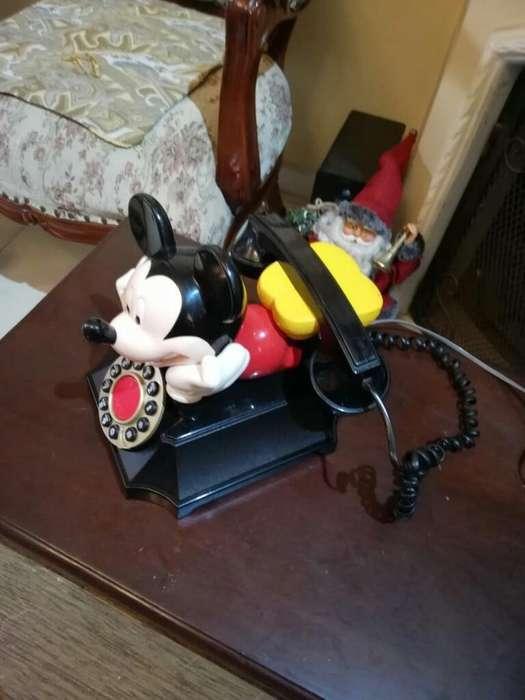 Teléfono Antiguo Mickey