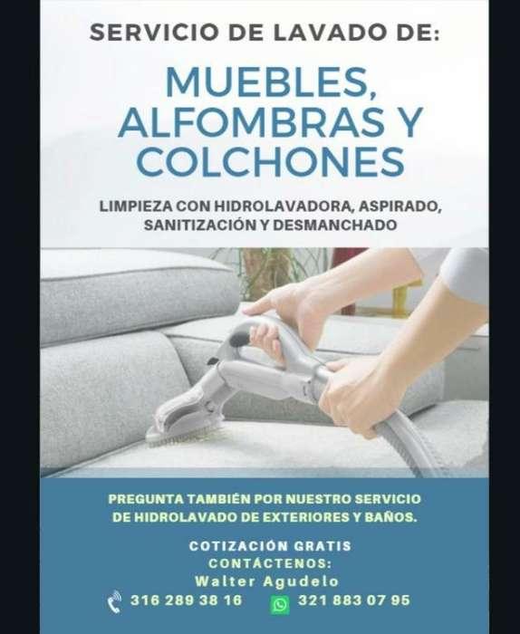 Lavado de Muebles, Tapetes Y Colchones
