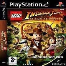 Lego Indiana Jones: The Original Adventures - Playstation 2-- CD