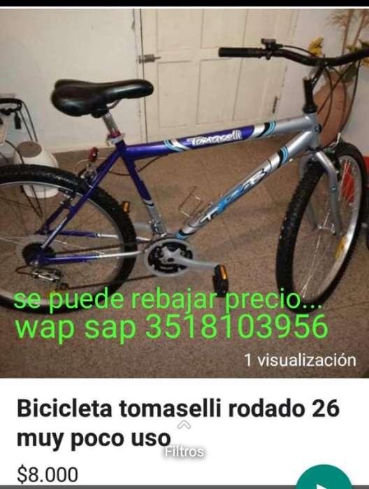 Bicicleta Tomaselli Rodado 26 Aventure