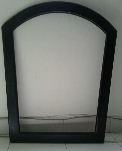 Marco espejo color negro