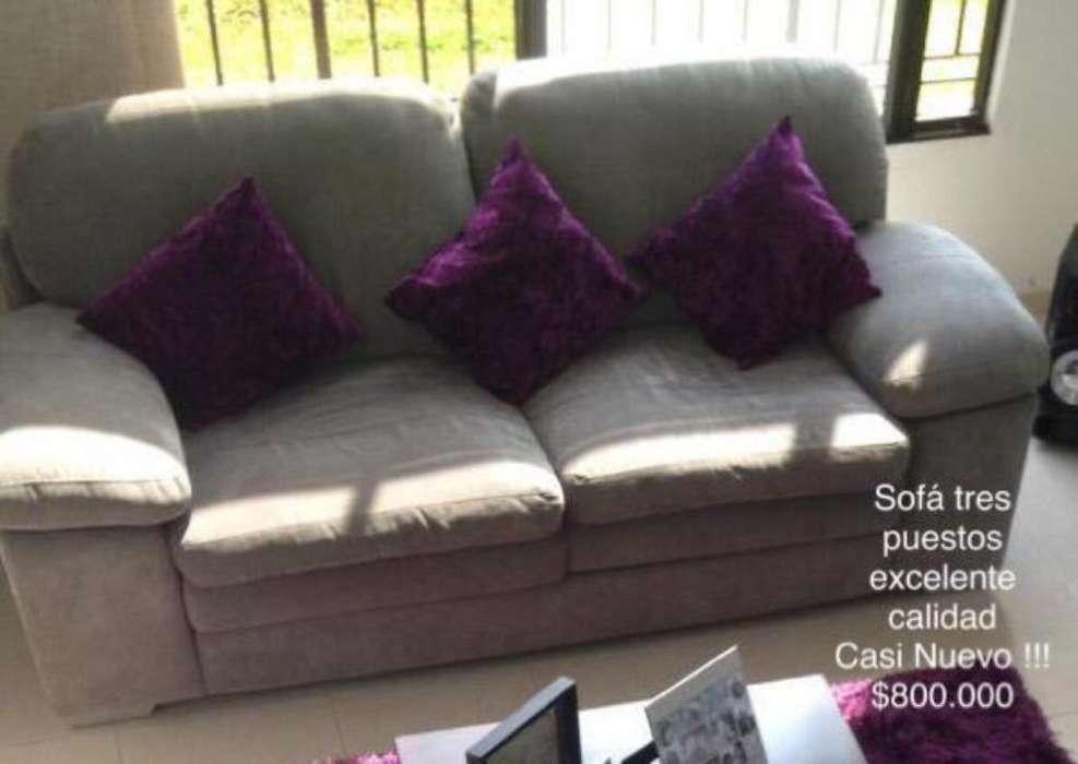 Sofa Tres Puestos