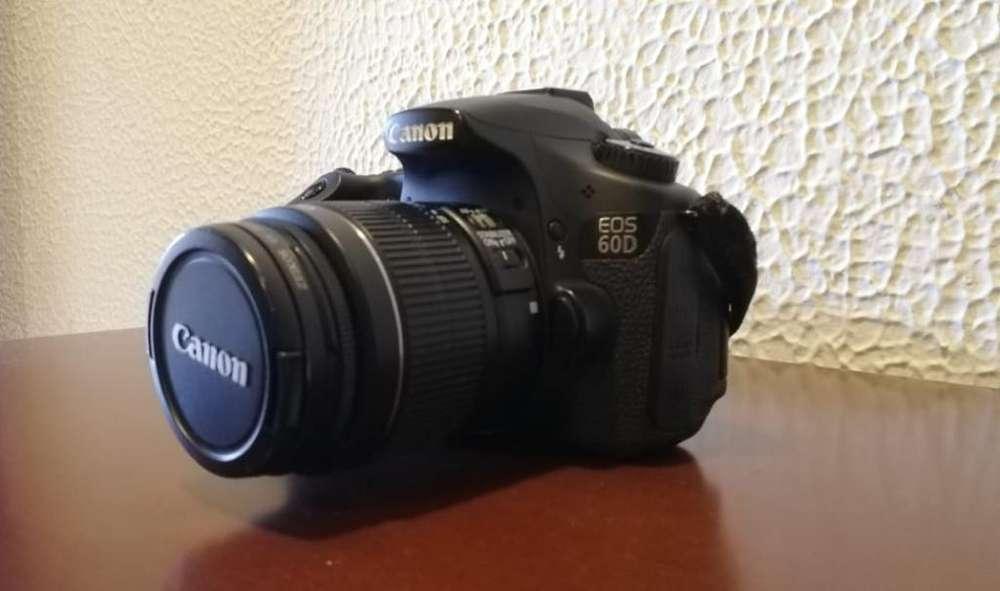 Camara Canon Eos 60d