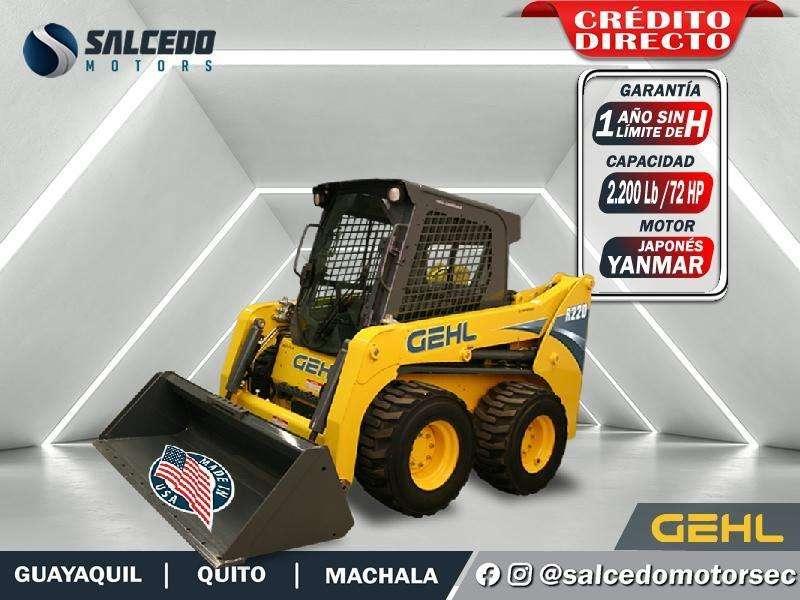 EXCAVADORA GEHL R220