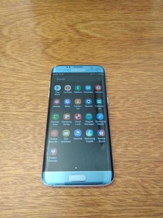 Samsung S7 Edge Libre Impecableee Poco U
