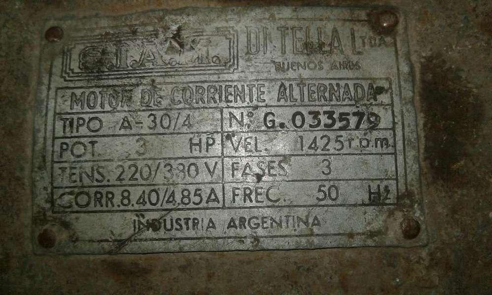 Motor Trifasico 3hp