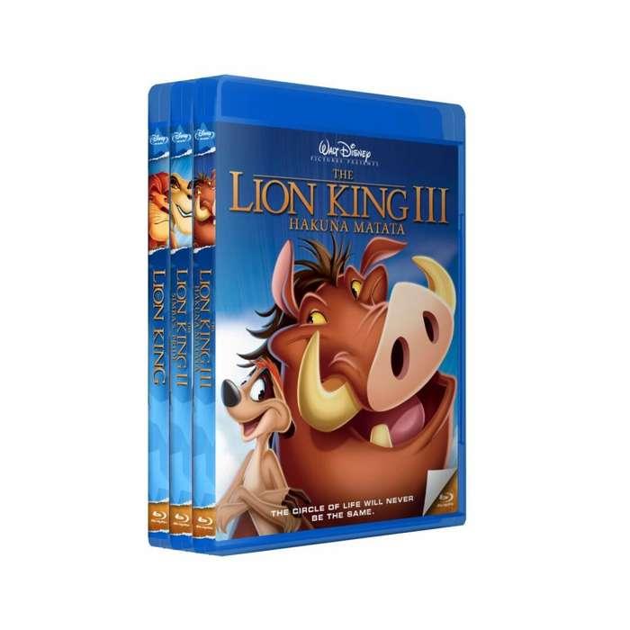 El Rey Leon 1 2 3 - Bluray Latino/ingles Subt Español