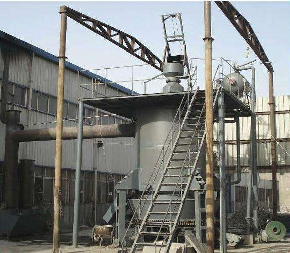 '' Gasificador de Carbón Mineral Generador integrado unidad '' 150kw hasta 1MW,