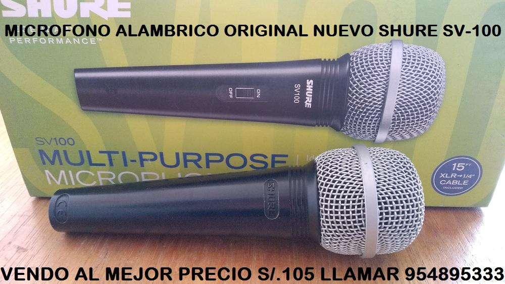 Microfono Shure SV-100 954895333