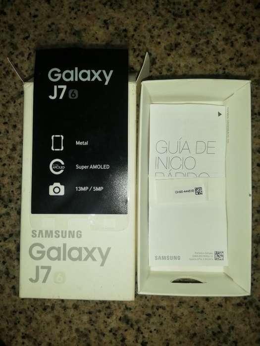 Vendo Caja Del Samsung J7.