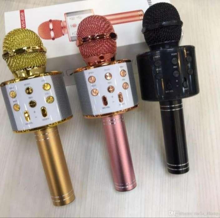 Microfono con Parlante, <strong>karaoke</strong>...