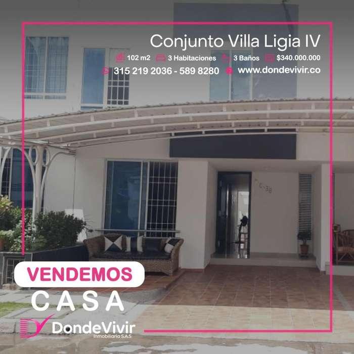 Vendo Casa conj Villa Ligia IV