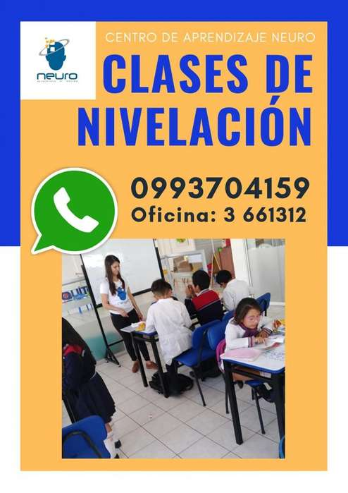 CLASES DE NIVELACION NEURO APRENDIZAJE