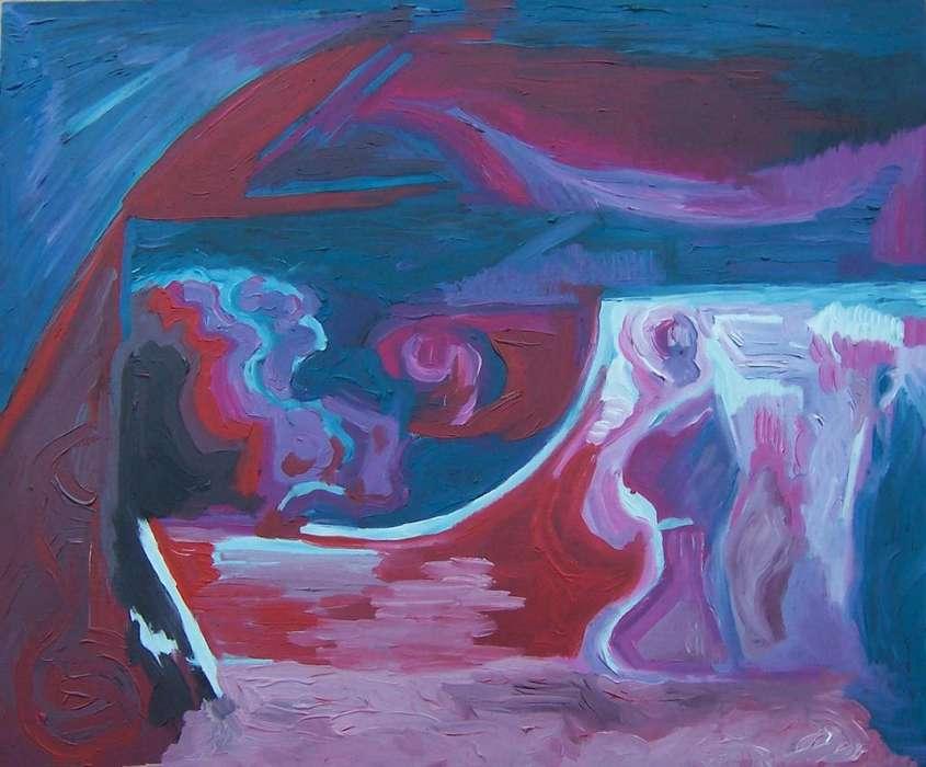 Procesión cuadro de Diana Sammartino