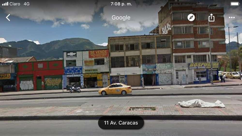VENDO EDIFICIO EN LA CARACAS CON CALLE 1ERA 1800 MTS CUADRADOS