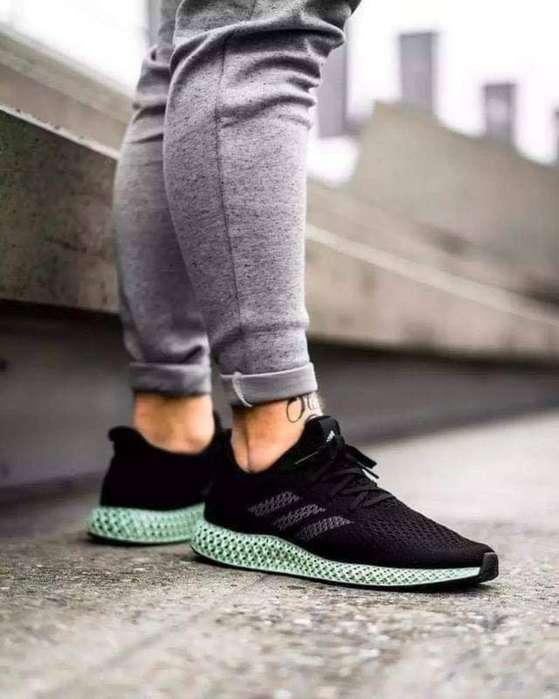 Zapatillas Adidas Alphaedge 4d Ltd Negra