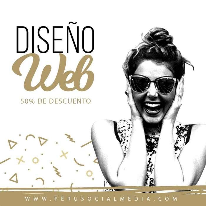 DISEÑO WEB ADMINISTRABLE , RESPONSIVE, LOS MEJORES PRECIOS DE LA RED AL 937812902