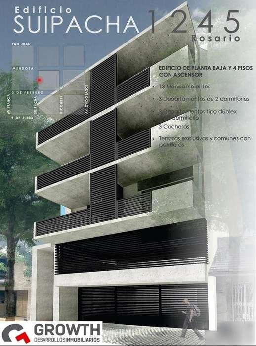 Suipacha 1200: duplex interno de 1 dormitorio con patio. Entrega inmediata.