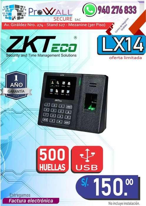Control de Asistencia ZK-LX14