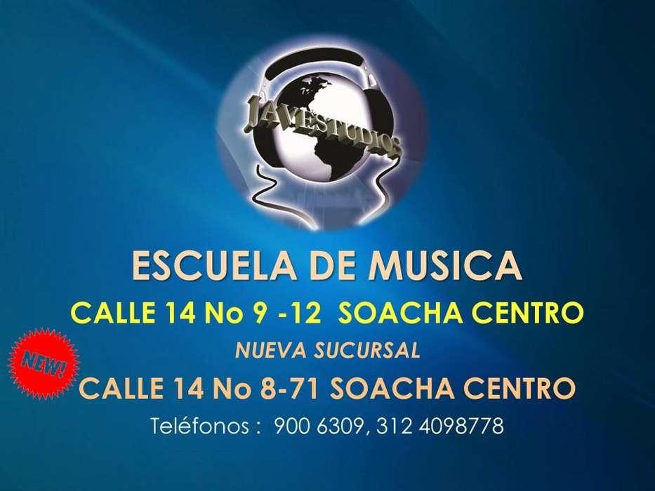 CLASES DE MUSICA EN SOACHA