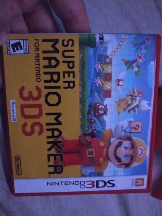 Super Mario Maker 3ds 2ds Nintendo