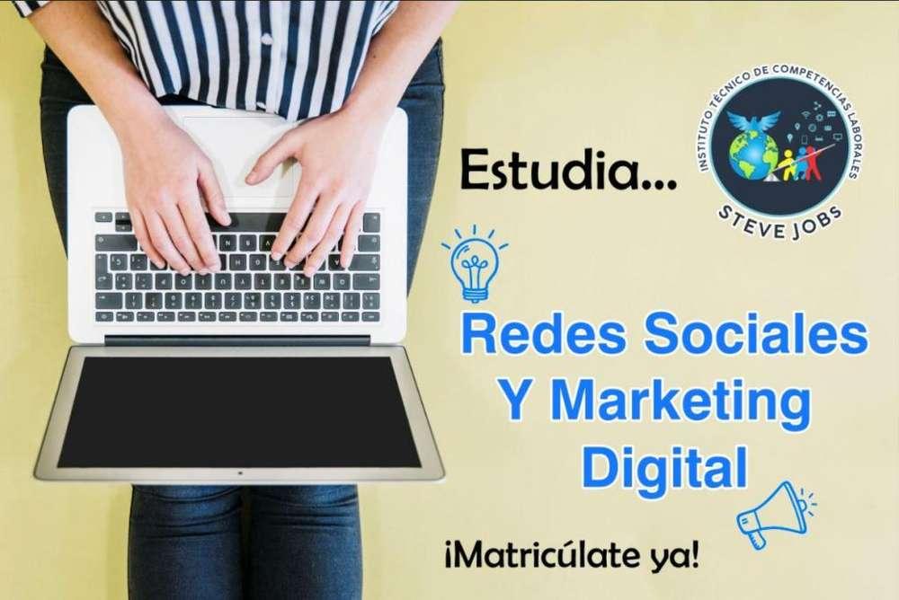 Estudia REDES SOCIALES Y MARKETING DIGITAL