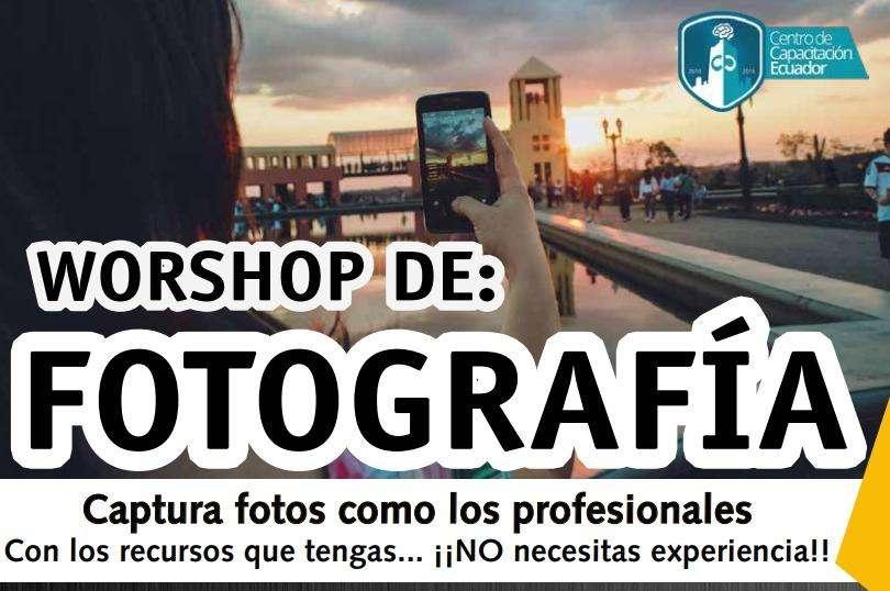 CURSO DE FOTOGRAFIA EN QUITO