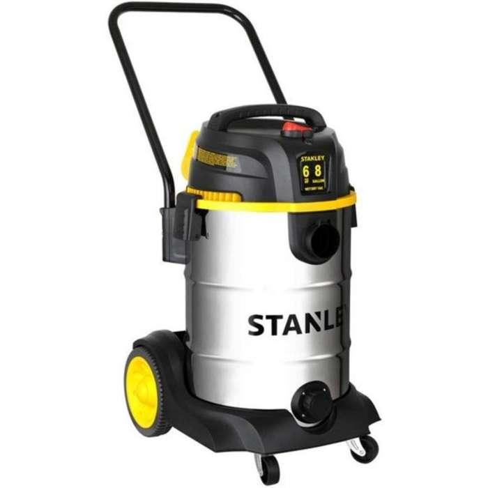 <strong>aspiradora</strong> Humeda / Seca Inoxidable 6.5hp 16 Galones Stanley nuevo con garantía