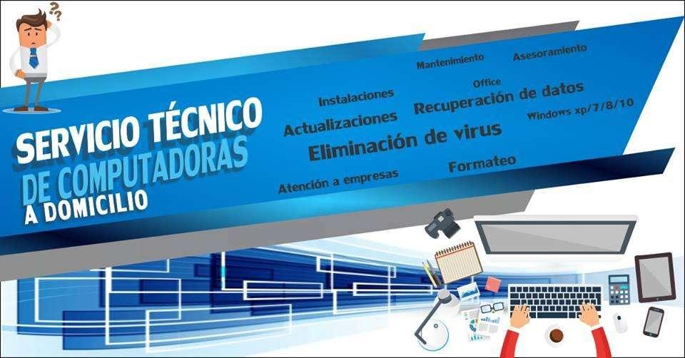 Servicio técnico de computadoras hogar y empresas - Juliaca - Puno