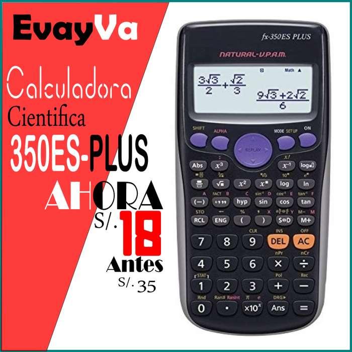 Calculadora Científica 350ES PLUS