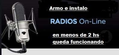 Tenga su propia ESTACION DE RADIO online y transmita para todo el mundo!!!