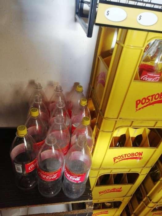 Envases de Postobon Y Cocacola