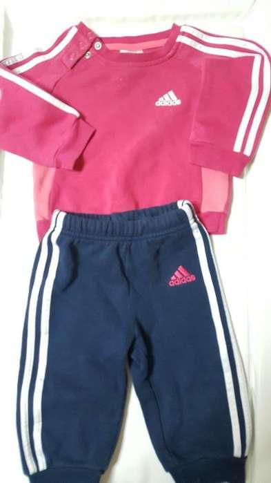 Conjunto Adidas, Original. de 3a6 Meses